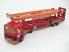 """Camion Saviem """" Porte Automobiles """" - Majorette - Made in France - échelle 1/60"""