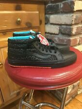 MENS NEW VANS UA SK8 MID REISSUE THROWBACK BLACK SIZE 10.5 RARE LIMITED EDITION