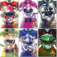 BOOM! Mexico MIGHTY MORPHIN POWER RANGERS #0 Red Blue Black Yellow Pink Variant