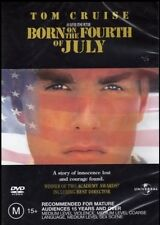 BORN on the FOURTH of JULY (Tom CRUISE) True Story War Film DVD NEW SEALED Reg 4