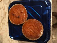 CG's Sweet Potato Pies 2-pack cup size food items & made to order.