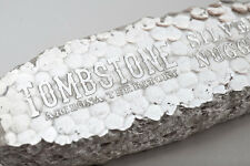 10~OZ ~ PURE .999 SILVER ~ TOMBSTONE ~ SILVER  NUGGET  BAR ~  $259.88  ~ AWESOME