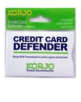 2pc Korjo Anti-RFID Credit Card Protector Sleeve Blocking Scan Identity ID Theft