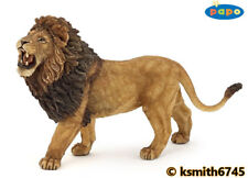 Papo ROARING LION solid plastic toy wild zoo African animal cat predator  NEW 💥