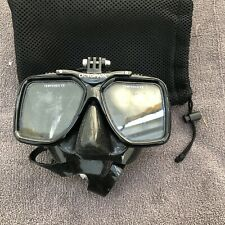 Octomask 1: Scuba & Snorkeling Mask with GoPro Mount *Without Straps Read
