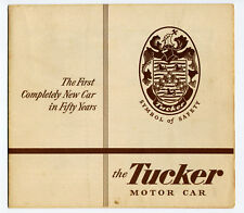 Tucker 1948 original brochure Prospekt