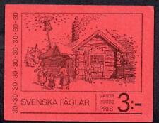 Sweden MNH 1970 Swedish Birds Complete Booklet