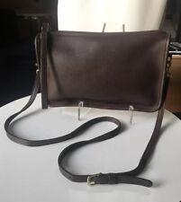Vintage COACH BROWN MAHOGANY LEATHER SHOULDER BAG PURSE 9455