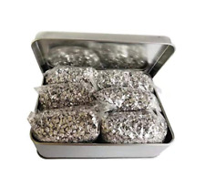 Emergency Fire Starter Magnesium 6 Bags100% Pure+ 1 Free Tin Box Camping Hiking