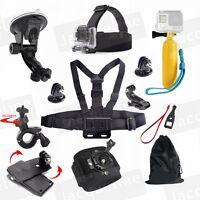 Accessories Kit Stick Chest for Gopro Hero 5/4/3+/3/2 Sj6000 AKASO EK5000 EK7000