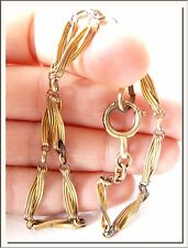 ANTIQUE 1920's GERMAN GOLD FILLED WATCH FOB CHAIN CHATELAINE !!! SEE MORE !!!