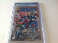 AVENGERS 335 CGC 9.8 WHITE PGS BLACK WIDOW CAPTAIN AMERICA RON LIM MARVEL COMICS