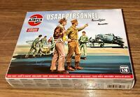 Airfix Military Model Figures. 1:76 USAAF PERSONNEL. Age 8+. Vintage Classics.