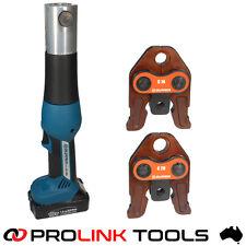 Zupper EZ-1528 Battery Pressing Tool Ezi Pex Forza Pex Iplex K2 Tradepex