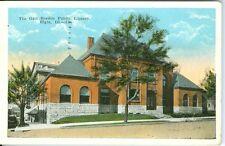 Elgin IL The Gail Borden Public Library 1924