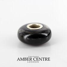 Amber Trolls fits all charm bracelets Black Cherry Amber 925 Ag RRP£35!!! CHA43