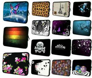 "LUXBURG 8""-17"" Inch Design Laptop Notebook Sleeve Soft Case Bag Cover"