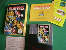 Nintendo NES MARIO BROS. Classic Serie Complet + Poster MINT Pal B NOE