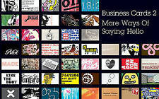 Business Cards 2: More Ways of Saying Hello by Liz Farrelly, Michael S. Dorrain