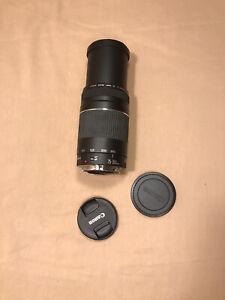 Canon Zoom Telephoto Zoom Lens EF 75-300mm 1:4-5.6 III