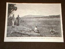 Guerra Africa nel 1894 Agordat Fiume Barka dove fu attraversato dai Dervisci