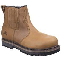 Amblers AS231 WORTON Waterproof Tan Dealer Safety Boot |6-12|