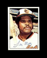Lee May Hand Signed 1975 SSPC Baltimore Orioles Autograph