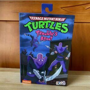 """NECA Teenage Mutant Ninja Turtles Ultimate Foot Soldier 7"""" Action Figure TMNT"""
