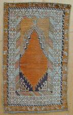 Old Original Turkish Prayer Rug Classic Design Handmade Circa 1900 Very Rare