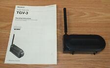 Genuine Sony (TGV-3) 6v Tuner Timer Unit Video Walkman & Operating Instructions