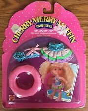 Vintage 1988 Mattel Cherry Merry Muffin Fashions Swimwear Doll Clothes