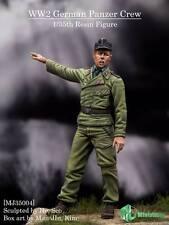 MJ Miniatures German Panzer Crew 35004 WW2 1/35th figure Unpainted kit