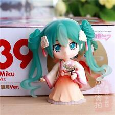 Q Version Hatsune Miku Ver Painted Anime Action PVC Figure Dolls Anime Toy
