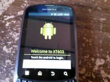 ( Used, Good, As Is ) Motorola Admiral XT603 Sprint CDMA 3G Android Smartphone