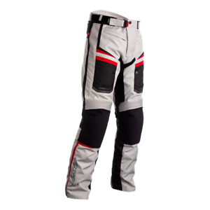 RST 2371 Maverick CE Textile Motorcycle Motorbike Trousers - Silver/Black/Red