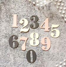 """Stanzschablone """"Numbers"""" Framelits für die Big Shot Zahlen Nummern"""