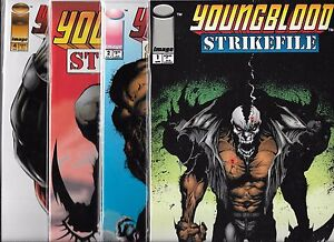 YOUNGBLOOD STRIKE FILE LOT OF 4 - #1 #2 #3 #4 (NM-) IMAGE COMICS