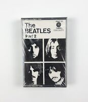 The Beatles Part 2 Vintage Cassette Tape Capitol Records - NEW