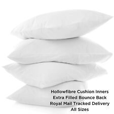 Cushion Inners Fillers Inserts Pads All Sizes Extra Filled Hollow Fibre Plump