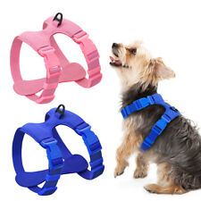 Soft Suede Leather Adjustable Dog Harness Chihuahua Pet Puppy Cat Harness Yorkie
