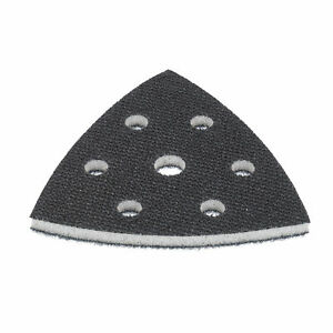 Soft interface pad 93mm Triangle/Delta Sander Plate Foam backing pad disc DFS