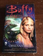 BUFFY THE VAMPIRE SLAYER OBSIDIAN FATE BOOK BTVS