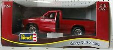 Vintage REVELL 1/24 Scale Die-Cast Red Chevy S-10 Pickup Truck - 8834 - NEW!
