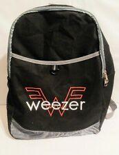 Weezer Vip 2018 Tour Backpack Rock Band Memorabilia Nice!
