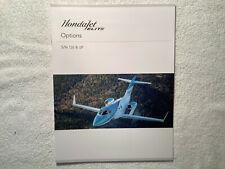 HONDA JET ELITE OPTIONS AIRCRAFT BROCHURE - 12 PAGES
