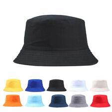 Bucket Hat Hunting Fishing Outdoor Trendy Solid Color Cap Women Summer Sun Hats
