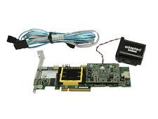 Adaptec ASR-5405Z SAS/SATA 512mb RAID Controller Card TCA-00304-07+BBU + Cable