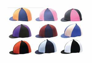 Horse pony Children Adult riding one size Lycra Hat Silks ***FREE UK POSTAGE ***