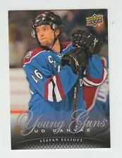 (59616) 2011-12 UPPER DECK SERIES 2 CANVAS YOUNG GUNS STEFAN ELLIOTT #C230