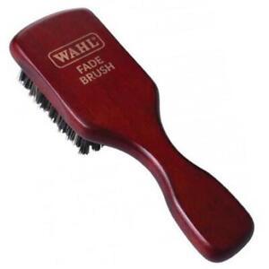 WAHL Nylon Bristle Fade Brush Hair & Beard w/ Wooden Handle MEN GROOMING